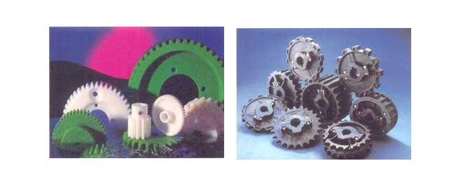 POLYMER SPROCKETS AND GEARS